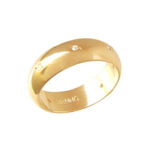 alianca feminina pedras zirconia folheada banhada 3 camadas ouro 18k semijoia brilho folhedos bruna