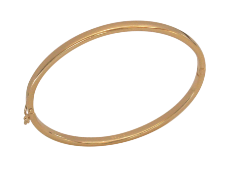 Pulseira bipartida com fecho seguro modelo bracelete de espessura fina folheada ouro 18k semijoia bruna brilho folheados