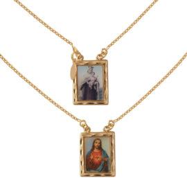 Escapulário masculino sagrado coração de Jesus