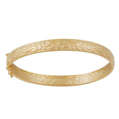 bracelete medio estampado desenho folhas textura micro bolinhas folheado ouro 18k dourado nickel free brilho folheados bruna semijoias BP0449