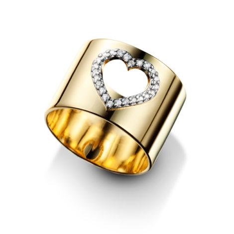 anel largo coracao vazado cravejado zirconia aplique rodio banhado ouro dourado semijoia antialergica sem niquel sabrina joias brilho folheados 1910145