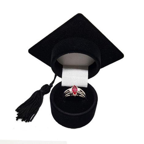 R1910672 anel de formatura pedra navete rubi brilho folheados sabrina joias