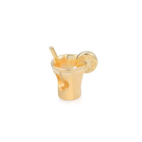 berloque item brasileiro caipirinha banhado ouro brilho folheados sabrina joias 1800144