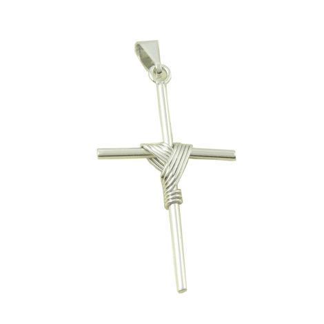 pingente cruz manto folheado ouro branco rodio brilho folheados brunca semijoias MB0093