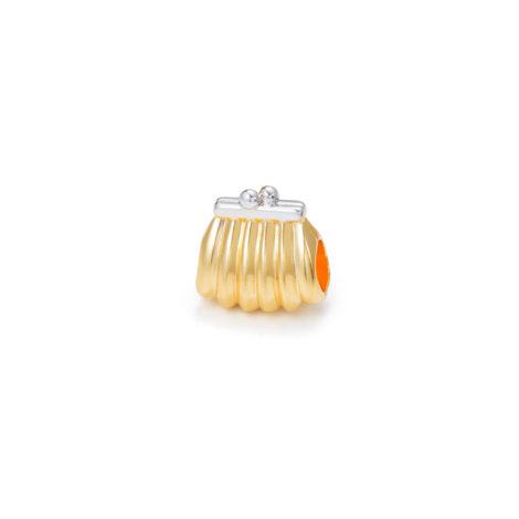 berloque bolsa mulher banhado ouro sabrina joias brilho folheados 1800244