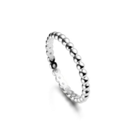anel delicado bolinhas life rodio 1910400