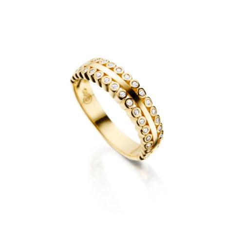 anel delicado zirconas 1910165