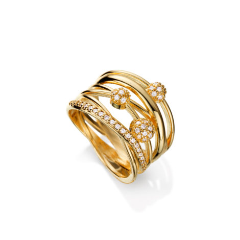anel largo estelar paves zirconias 1910132