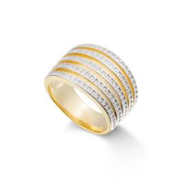 anel largo zirconias 1910053