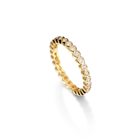 anel meia alianca jazz zirconias 1910371
