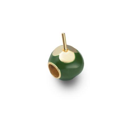 pingente berloque coco verde semijoia 1800231