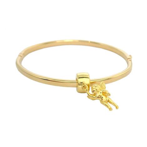 bracelete pandora berloque anjo da guarda