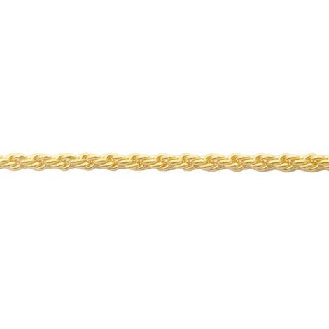 corrente feminina trancada 45 cm