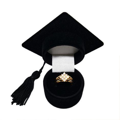 1910672 anel 2 faces parte flor de zirconias brancas joia folheada brilho folheados sabrina joias