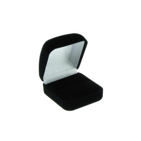 embalagem anel veludo brilho folheados