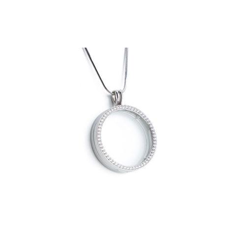 capsula pingente secrets sabrina joias brilho folheados replica vivara R1800281