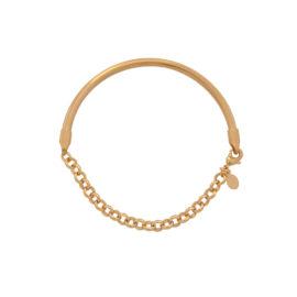 pulseria meio bracelete meio pulseira bruna semijoias brilho folheados BP0251
