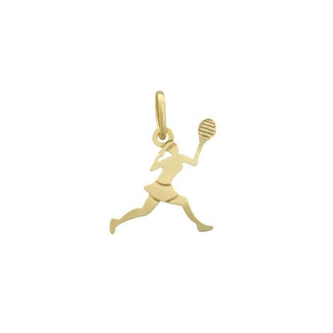 pingente esporte tenis feminino antialergico
