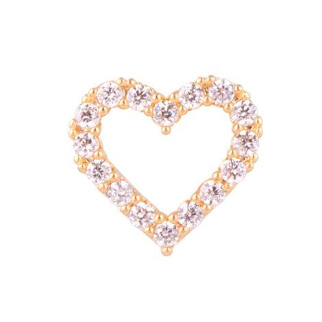 1800349 mini pingente coracao cravejado zirconia para capsula banhado ouro amarelo rose ou branco brilho folheados sabrina joias