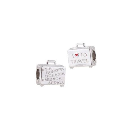 1800336 berloque mala de viagem eu amo viajar prata sabrina joias brilho folheados