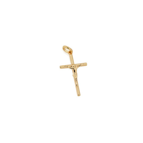 540003 pingente crucifixo corpo cristo joia rommanel brilho folheados