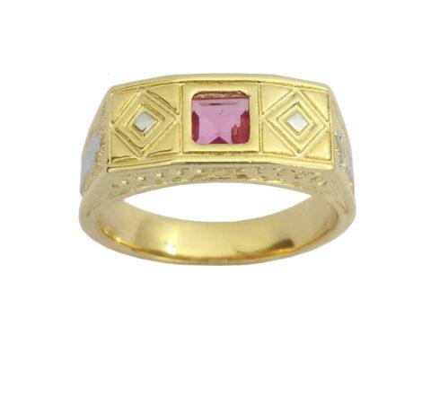 anel formatura infantil pedra zirconia rosa abc e mamadeira na lateral joia antialergica folheda ouro bruna semijoias brilho folheados AB1208 e1508252177543