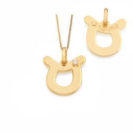 542007 531310 colar pingente signo touro com 1 zirconia branca joia folheada ouro dourado 18k rommanel brilho folheados e de touro pessoa nascida entre 20 04 a 20 05