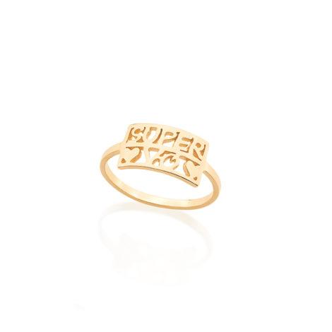 512418 anel delicado super vo 2 coracoes lisos joia folheada colecao super mae rommanel brilho folheados