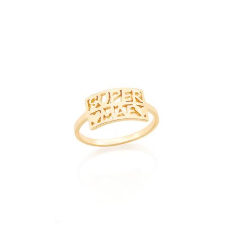 512419 anel delicado super mae joia folheada dia das maes rommanel brilho folheados