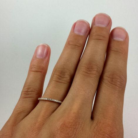anel aparador de alianca zirconia branca joia folheada sabrina joias brilho folheados 1910534 3
