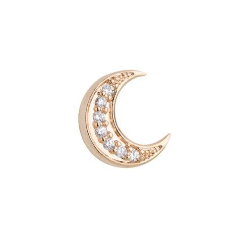 1800457 mini pingente para capsula com zirconias formato lua joia folheada ouro dourado zirconias branca brilho folheados revendedora oficial da sabrina joias