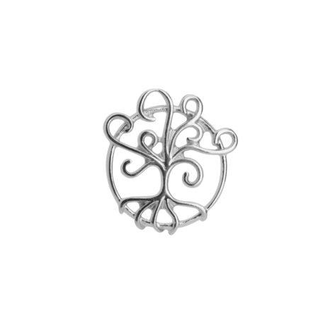 R1800583 mini pingente arvore da vida vazado joia folheada em rodio prateada sabrina joias brilho folheados