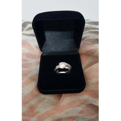 R1910172 3 anel solitario noivado folheado em rodio ouro branco sabrina joias brilho folheados