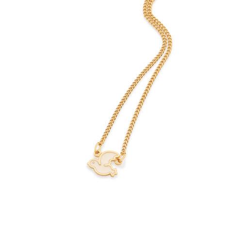 531826 colar infantil ajustavel pingente espirito santo de deus joia rommanel brilho folheados colecao kids collection