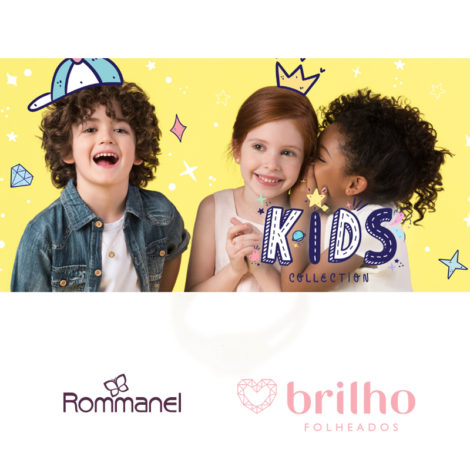 colecao kids collection rommanel dia das criancas 2017 brilho folheados rommanel