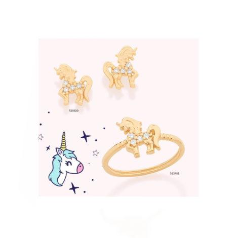unicornios brilho folheados