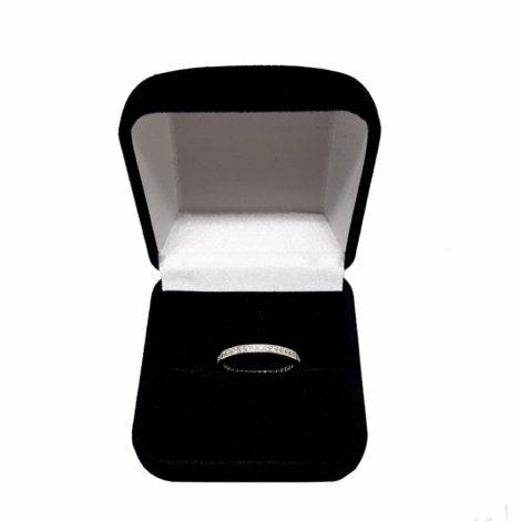1910043 anel aparador de alianca com caixinha de veludo brilho folheados sabrina joias