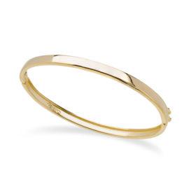 Bracelete liso bipartido com trava Sabrina Joias
