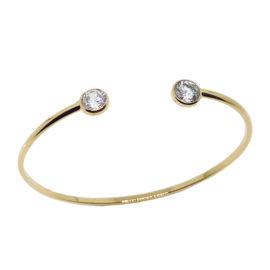 Bracelete ponto de luz ajustável joia folheada ouro