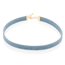531894 choker azul jeans couro sintetico colecao duda brilho folheados rommanel 2018