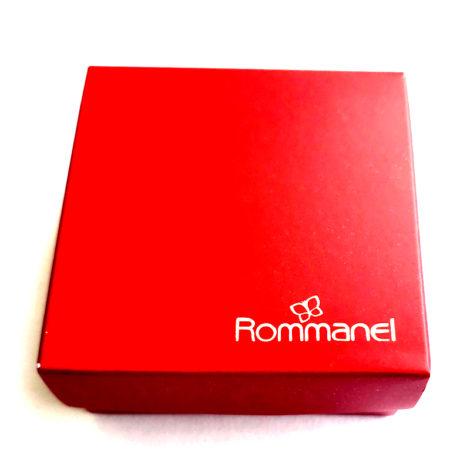 caixa de presente vermelha rommanel loja