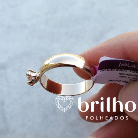 511401 anel solitario largo com zirconina marca rommanel loja brilho folheados compre 1