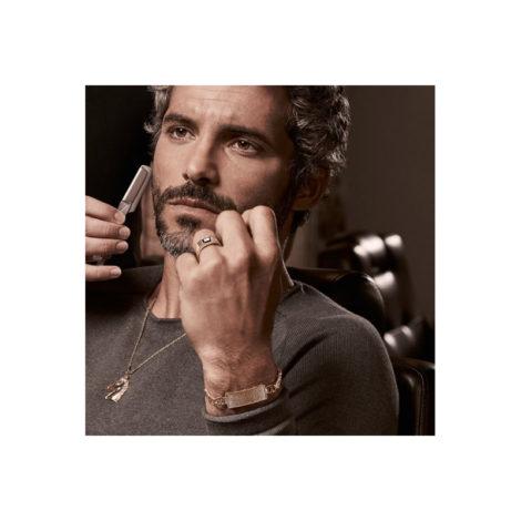 512641 anel com cristal preto 530614 542119 cordao com cavalo 551568 pulseira rommanel colecao homem brilho folheados foto modelo 1