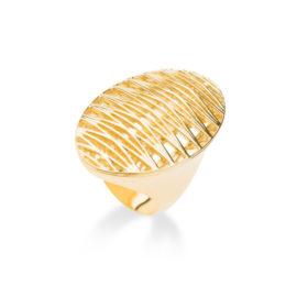 1910911 maxi anel solar folheado a ouro dourado 18k sabrina joias brilho folheados