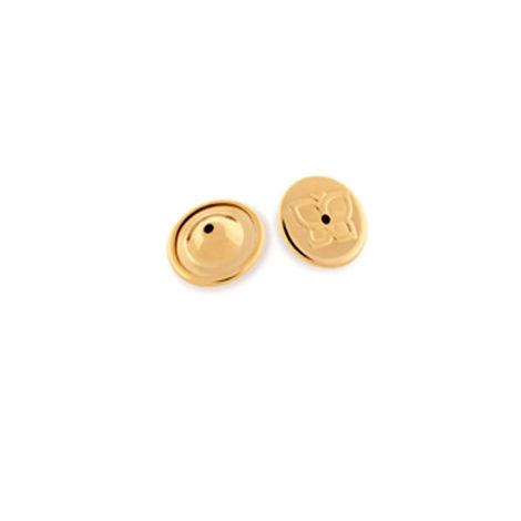 590043 tarraxa larga magica sutia de orelha folheada ouro dourado 18 rommanel brilho folheados