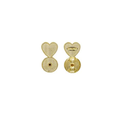 BB2918 tarraxa magica sutia de orelha para melhor sustentacao e conforto do brinco na orelha folheado ouro dourado 18k sabrina joias brilho folheados