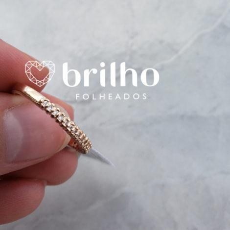 512649 anel meia alianca zirconia marca rommanel loja brilho folheados