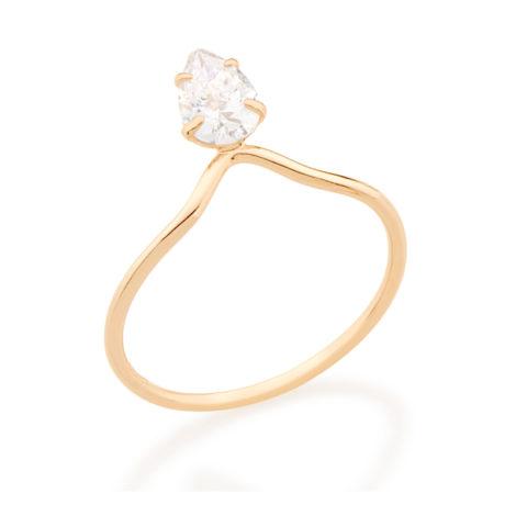 512662 anel solitario aro fino detalhe triangulo com gota de zirconia solitaria branco brilhante colecao miss violet rommanel brilho folheados