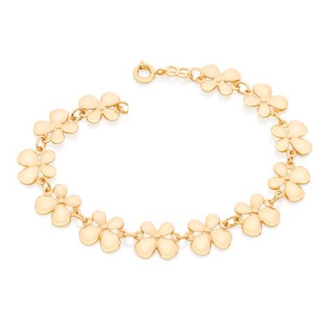 551581 pulseira feminina com 12 pecas no formato de borboleta joia folheada a ouro dourado 18k miss colet brilho folheados rommanel