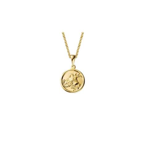 colar sao jorge corrente elos portugueses delicados colar folheado ouro 18k antialergico marca sabrina joias loja brilho folheados